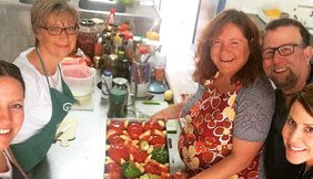 cooking in paros greece